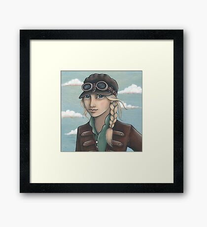Sky Captain Framed Print