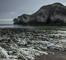 Flamborough Head Cove by Angie Morton