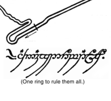 The One Ring Sticker