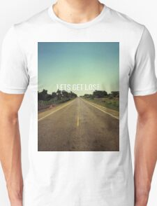 Lets Get Lost - African Road T-Shirt