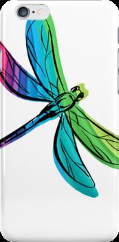 Rainbow Dragonfly by pjwuebker