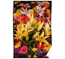 Cambodian Flower Arrangement Poster