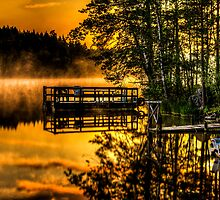 colorful Sunset by Stefan Johansson