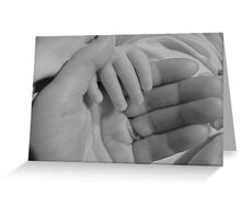 Father, Son Greeting Card