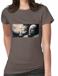Tony Soprano with cigar Womens Fitted T-Shirt