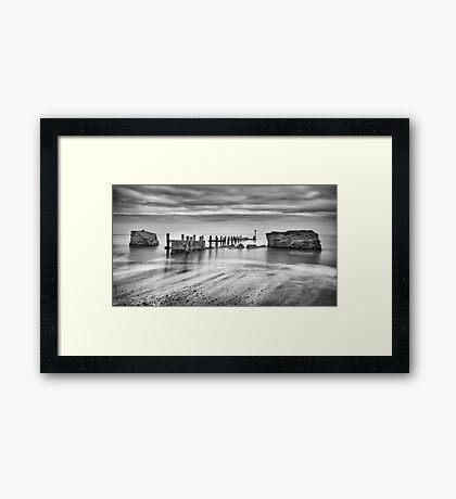 Beach Defences Framed Print