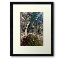 Blossoms of the Chestnut Tree... Framed Print