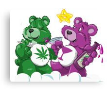 Party Bears Canvas Print