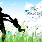 Happy Father's Day by SandraWidner
