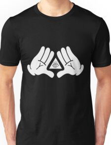 illuminati Mickey hands Unisex T-Shirt