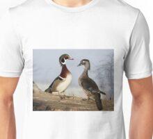 Foggy Wood Ducks Unisex T-Shirt