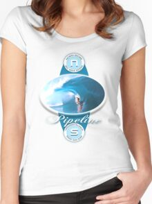 surf 3 Women's Fitted Scoop T-Shirt