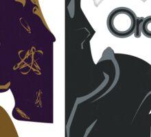 Chaos & Order Sticker
