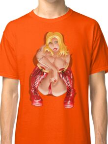 BBW Red Corset Boots  Classic T-Shirt