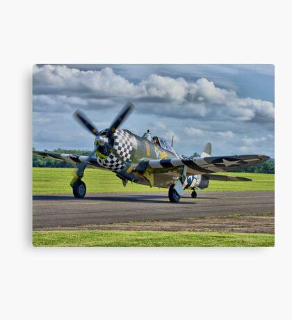 Snafu -Flying Legends 2012 - HDR Canvas Print