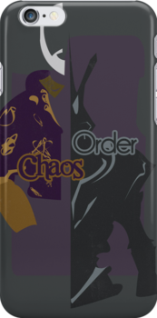 Chaos & Order by freckilation