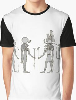 Gods of ancient Egypt Graphic T-Shirt
