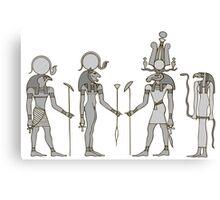 Gods of ancient Egypt Canvas Print