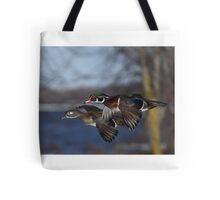 Together Forever - Wood Ducks Tote Bag