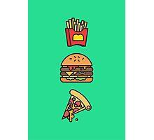 Fast food fantasies Photographic Print
