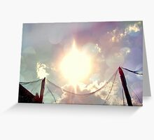 Heavenly Sky Greeting Card