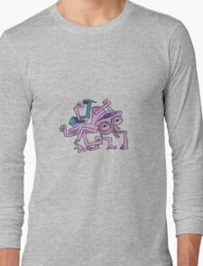 here comes randall Long Sleeve T-Shirt