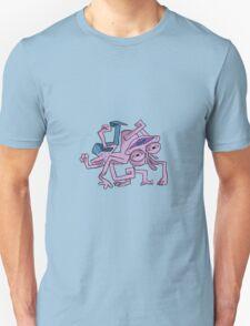 here comes randall Unisex T-Shirt
