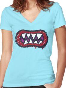 Bowser Jr. Women's Fitted V-Neck T-Shirt