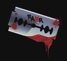Emo Razor Blade by rawrclothing
