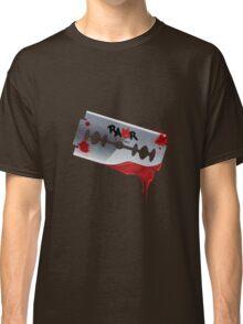 Emo Razor Blade Classic T-Shirt