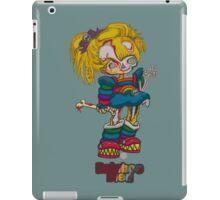 Rainboo Died_green iPad Case/Skin