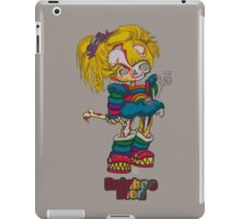 Rainboo Died_grey iPad Case/Skin