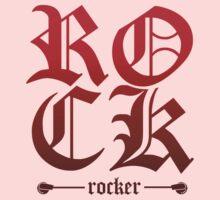 Gothic Rock Rocker Kids Tee