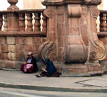 People 4398 Sucre, Bolivia by Mart Delvalle