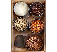 Chef - Food - Health food Photographic Print