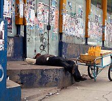 People 4198 La Paz, Bolivia by Mart Delvalle
