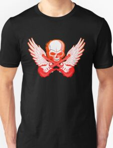 Rock Music Skull Guitar T-Shirt