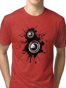 Speaker Splatter Tri-blend T-Shirt
