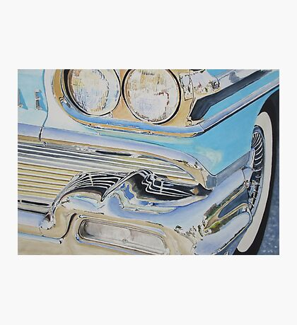 Chrome-Ode to an Olds Photographic Print