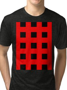 Red And Black Crosses Tri-blend T-Shirt
