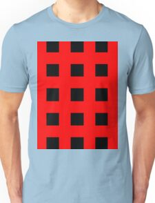 Red And Black Crosses Unisex T-Shirt