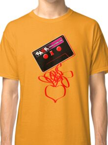 Retro Cassette Tape Love Classic T-Shirt
