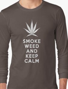 Smoke Weed And Keep Calm T-Shirt