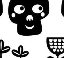 Funny bones. Sticker