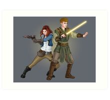 The Smuggler and the Consular (Doctor Who) Art Print