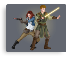 The Smuggler and the Consular (Doctor Who) Canvas Print