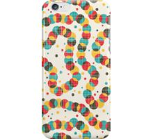 Colorful worm. iPhone Case/Skin