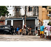 People 7483 (Salvador, Brasil) Photographic Print