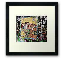 Interior with Klimt Framed Print