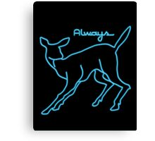 Always Neon Canvas Print